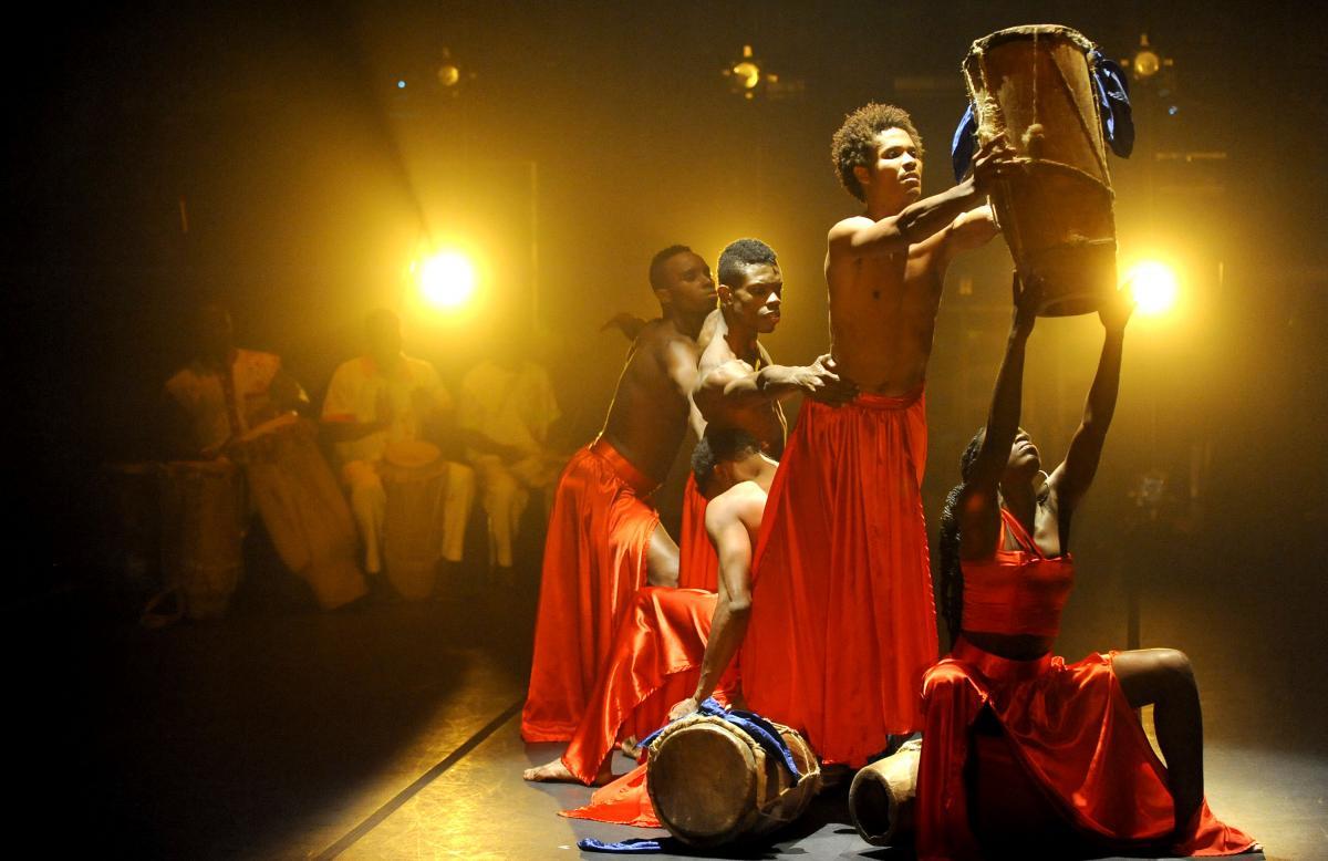 Compagnie de Danse Jean Rene Delsoin, Season 1, at U.N.C. Wilmington