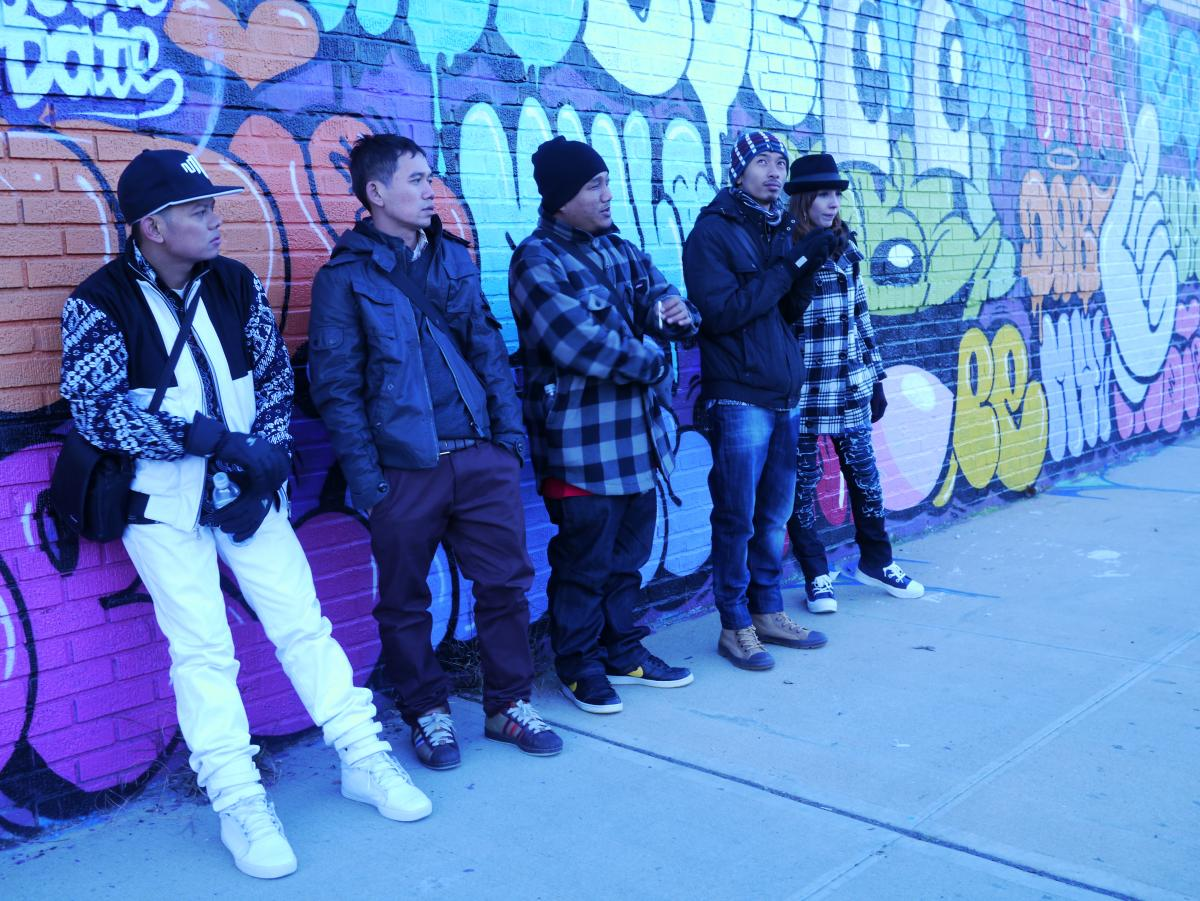 Jogja Hip Hop, Season 1, on a Bronx Graffiti Tour