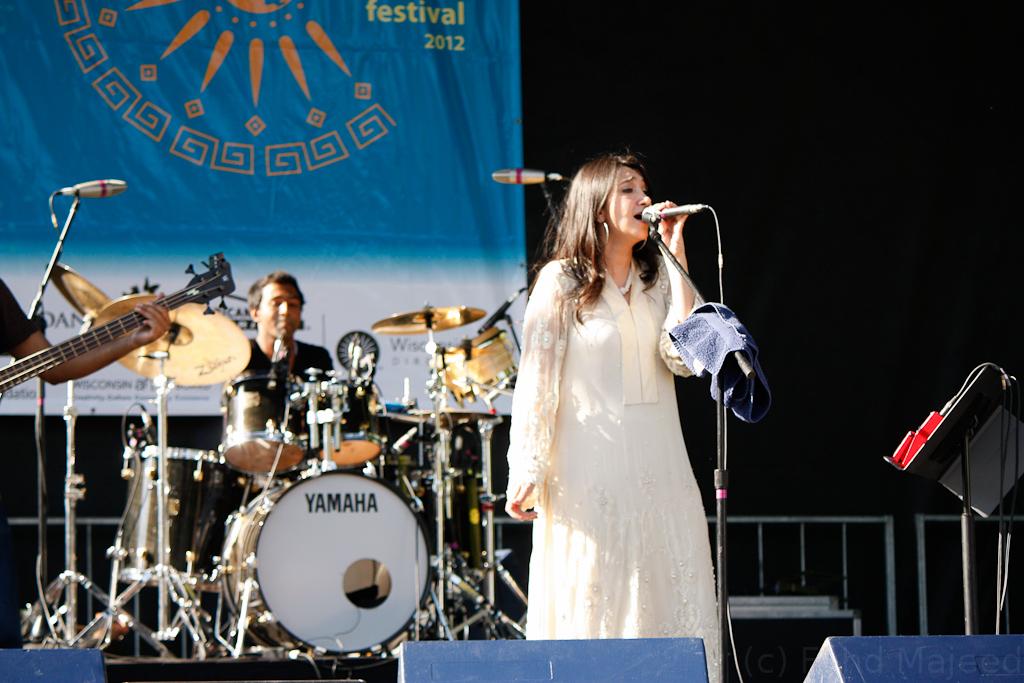 Zeb Bangash of Zeb & Haniya, Season 1, perform at Global Village Festival
