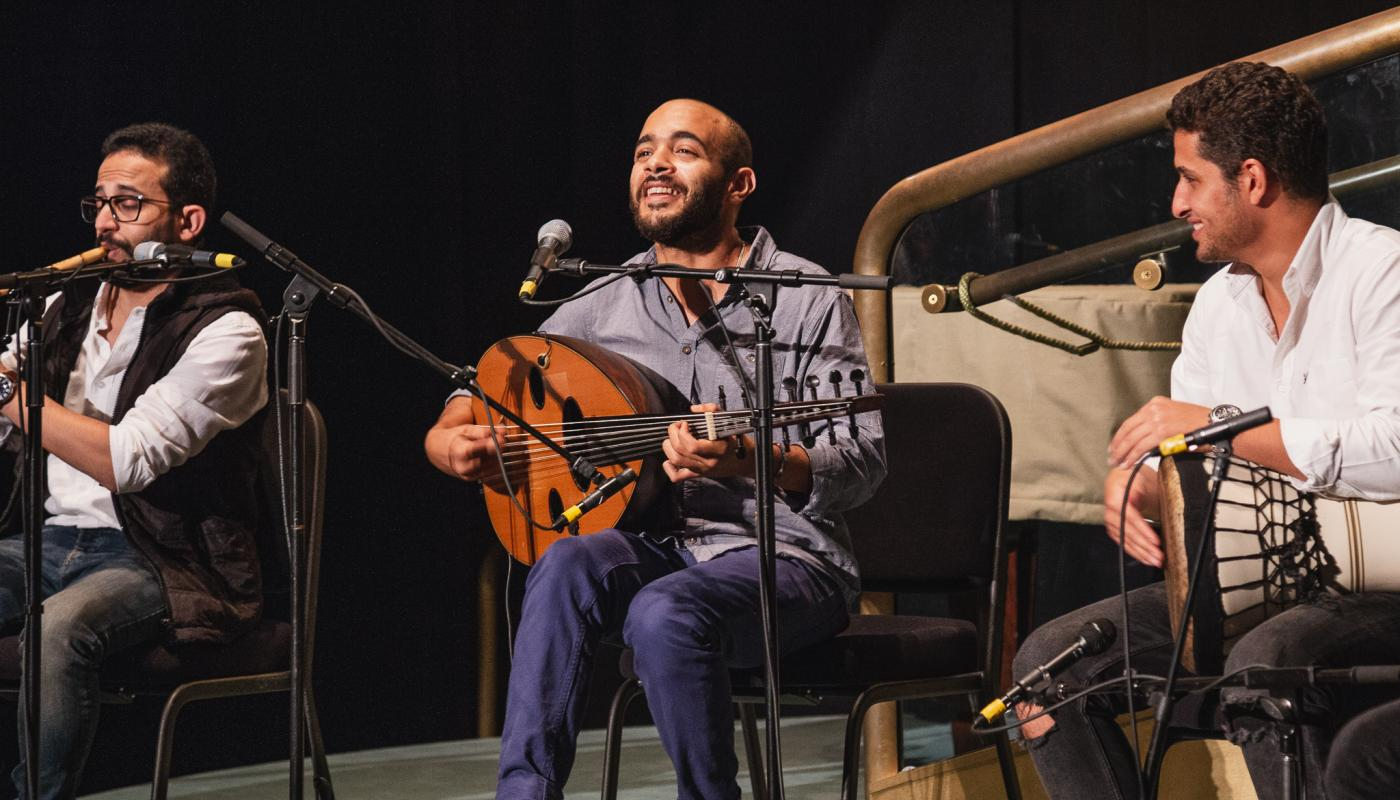 Mohamed Abozekry and Karkade at Bucknell by Kalen Sowul