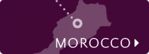 Morocco map icon