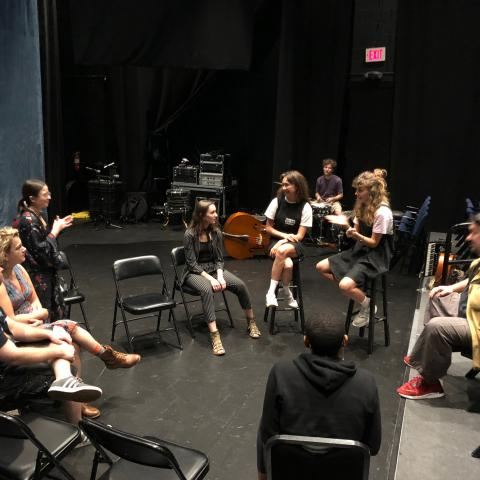 Master Class with Students at University of Florida, by Stacey Boggs